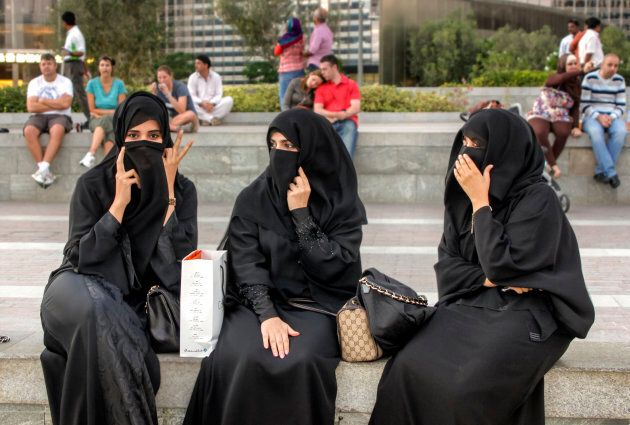 The niqab is most common in the Arab countries of the Persian