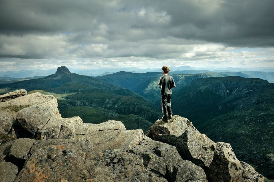 Cradle Mountain is a hiker's dream, with open plains, steep inclines and surprising wildflowers.
