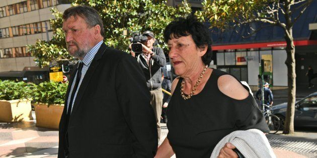 Phillip Hughes' parents Greg and Virginia Hughes.