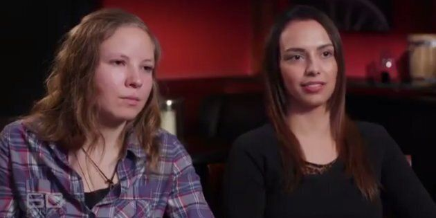 Lena Rabente and Beatriz were violently attacked on an isolated South Australian beach last year.
