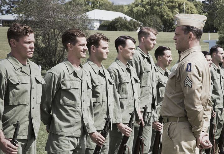 Vince Vaughn plays a formidable sargent in 'Hacksaw Ridge.'