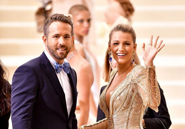 There are 11 years between Ryan Reynolds and wife Blake
