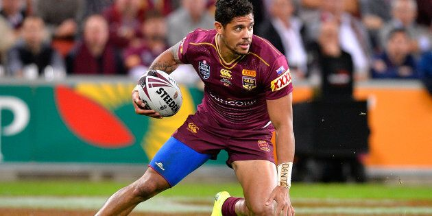 Dane Gagai became just the fourth Maroons player to score an Origin hat trick on Wednesday