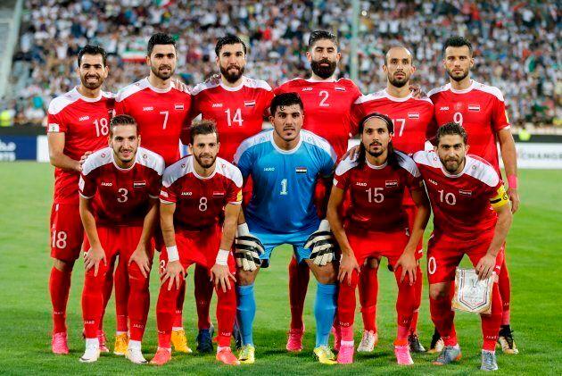 That's Firas al-Khatib on the bottom row,