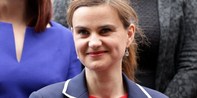Batley and Spen MP Jo Cox is seen in Westminster May 12, 2015. Yui Mok/Press Association/Handout via REUTERS  ATTENTION EDITORS - FOR EDITORIAL USE ONLY. NOT FOR SALE FOR MARKETING OR ADVERTISING CAMPAIGNS THIS IMAGE HAS BEEN SUPPLIED BY A THIRD PARTY. IT IS DISTRIBUTED EXACTLY AS RECEIVED BY REUTERS AS A SERVICE TO CLIENTS. NO RESALES. NO ARCHIVE.
