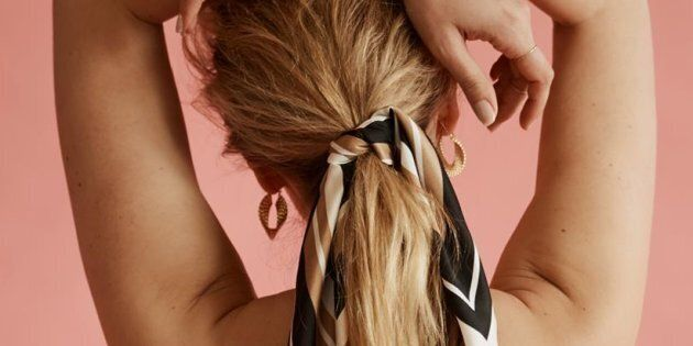 Aussie label Frankie Peach is bringing the classic silk scarf