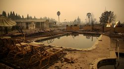 Ten Dead, 20,000 Have Fled From Fires In California's Wine