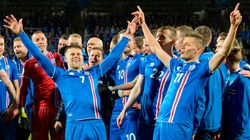 Iceland Qualified For The World Cup With A Thunderously Trademark Viking