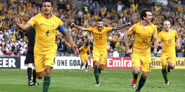 Cometh the hour, cometh the Tim Cahill header.