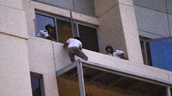 Balcony Stand-Off Accused Behind