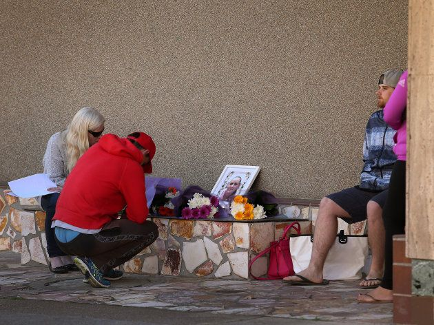Family and friends gathered outside Maitland Police station this morning for a memorial to mark a year...