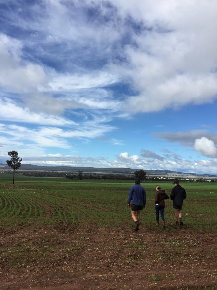 Facing Future -- James, Angus and Sophie Clift are worried about the longterm future of farming in the Liverpool plains