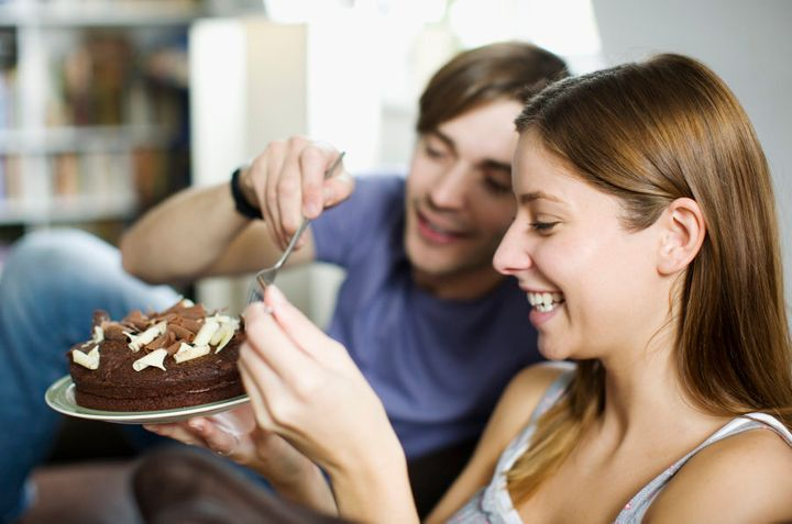 Enjoying a treat with a loved one can help create a positive attitude towards food.