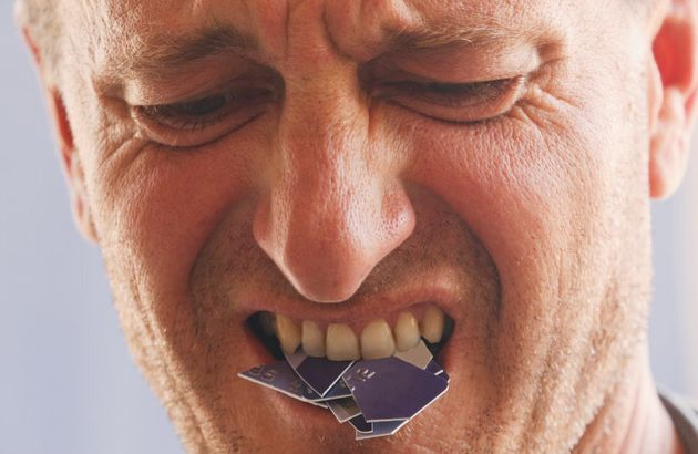 We don't suggest eating your credit card, though if you can't control spending we suggest putting it...