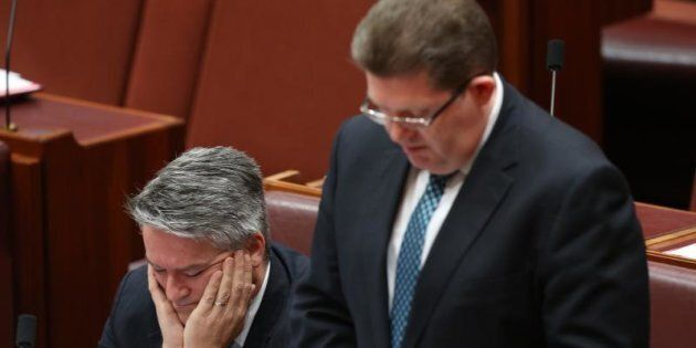 Senator Scott Ryan says the High Court is the appropriate place to resolve the Bob Day and Rod Culleton