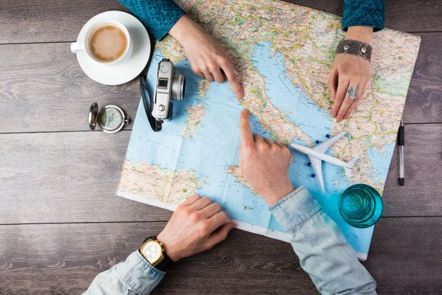 So you probably don't need a compass, camera or a plastic plane, but you could start planning your trip now.