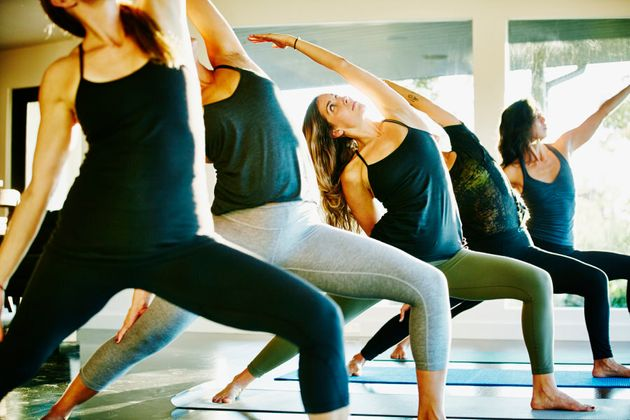 Yoga is a different story -- it's all about the