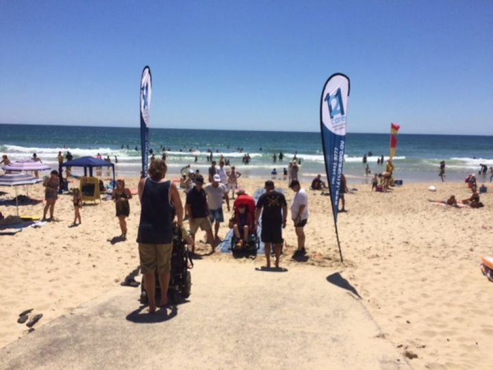 The next beach matting trial will be held in Maroochydore.