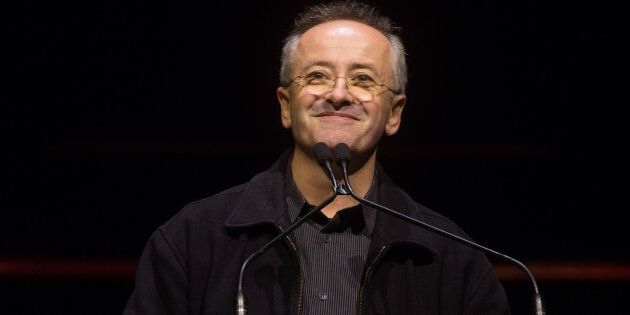 Andrew Denton is focused on the 'business of being alive'.