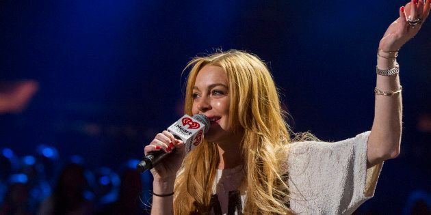 Lindsay Lohan weighed in on the Brexit