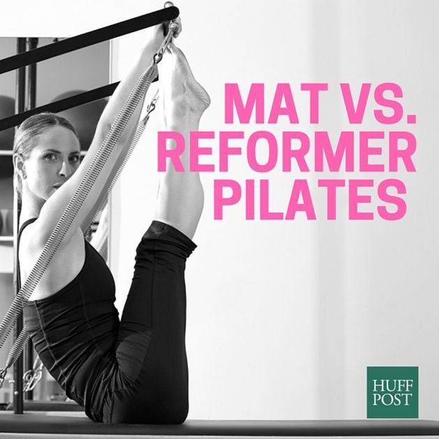 Pilates: The Difference Between Mat And