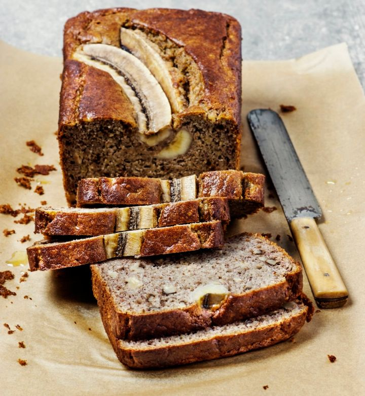 Make a delicious loaf of banana bread.