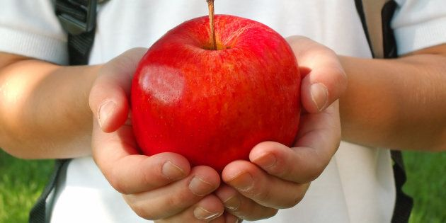 No, teachers don't really want 25 apples,