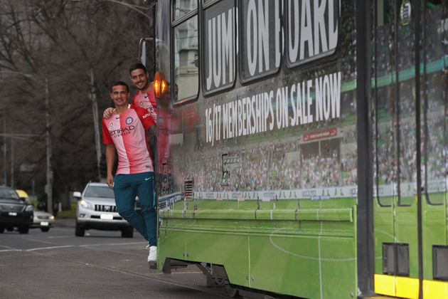 Timmy's well on track to bring glory to Melbourne City. And by that, we mean both the football club and...