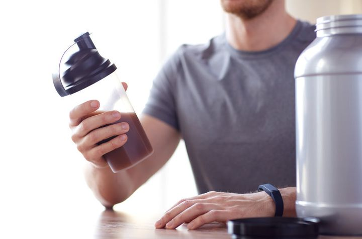 BCAAs and creatine can help gain muscle but are not essential.