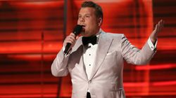 James Corden's Harvey Weinstein Jokes Elicit Groans,