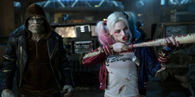 Margot Robbie as Harley Quinn in 'Suicide