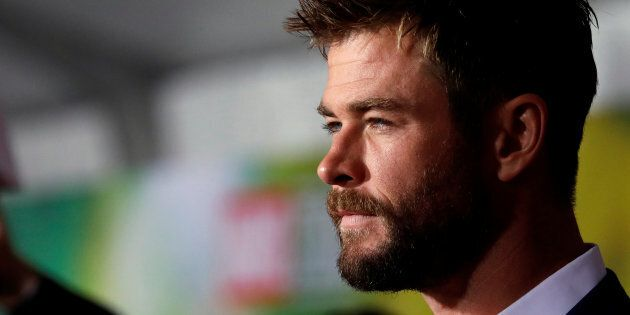 Chris Hemsworth at the World Premiere of Thor: Ragnarok