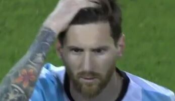 He's Messi-ing up his