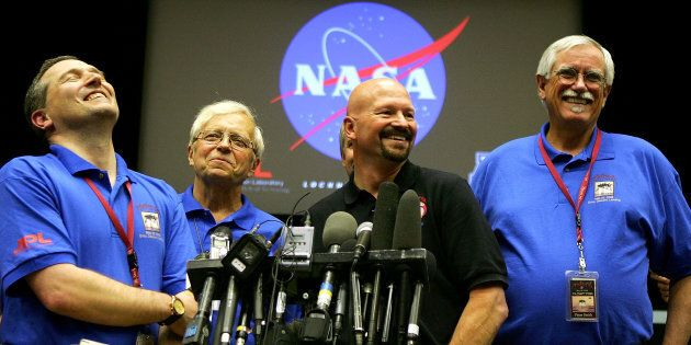 This wasn't the first time NASA had to deny the conspiracy theory.