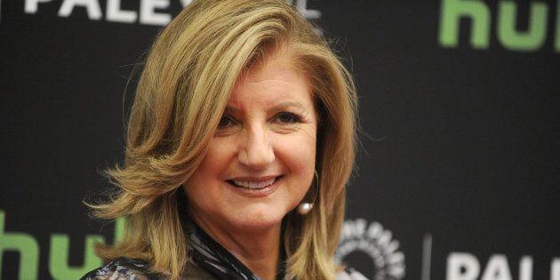 The Huffington Post founder Arianna Huffington.