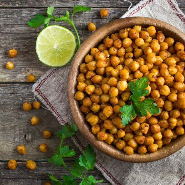 Legumes like chickpeas help you feel full more quickly for one