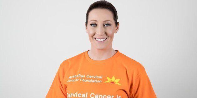 Jana Pittman is the Ambassador for Cervical Cancer Awareness