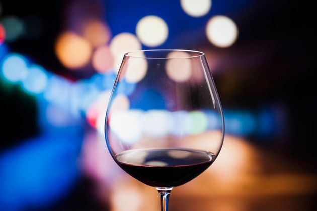 Red wine is also a good