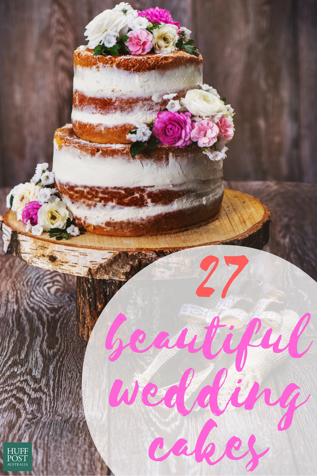 These 27 Stunning Wedding Cakes Are Too Much To