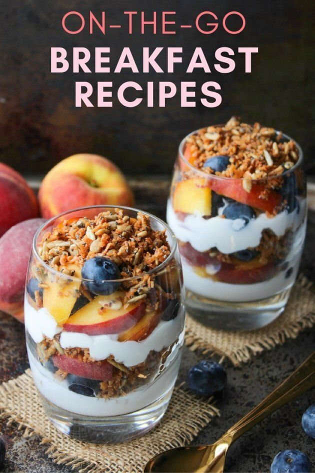 Healthy On-The-Go Breakfast