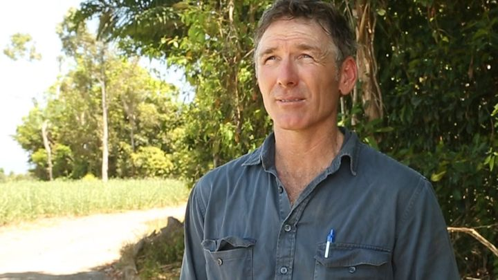 Brian Dore uses zonal tilling to plant less, but produce the same amount.
