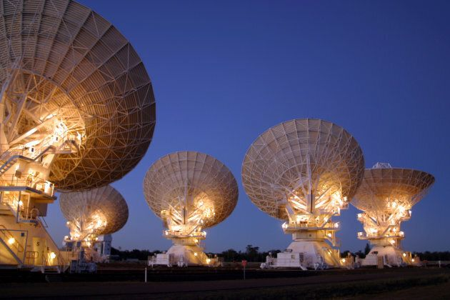 There were over 90 telescopes involved internationally.
