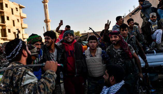 U.S.-Backed Syrian Militias Take Back Raqqa From
