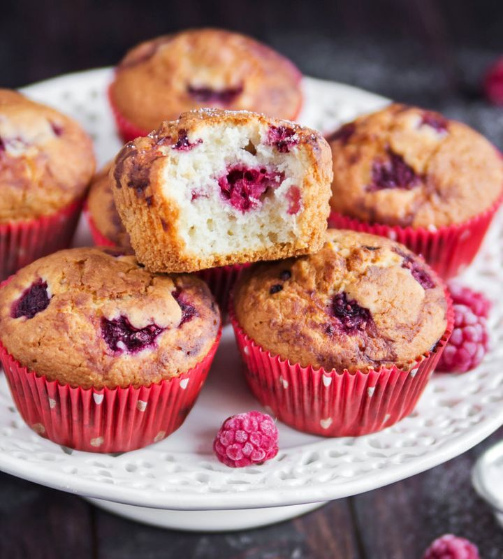 There's nothing like the smell of freshly baked muffins wafting through the house.