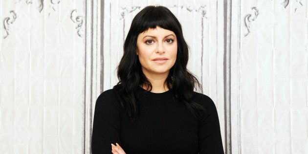 Sophia Amoruso promoting her new book 'Nasty Galaxy' in New York City in