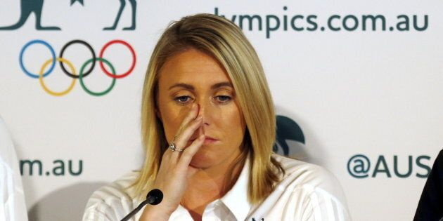 Her Olympic hopes have been dashed at the last