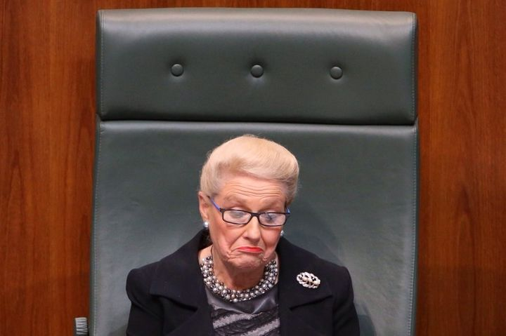 Former Liberal MP Bronwyn Bishop could also have been referred to the federal ICAC, the Greens say
