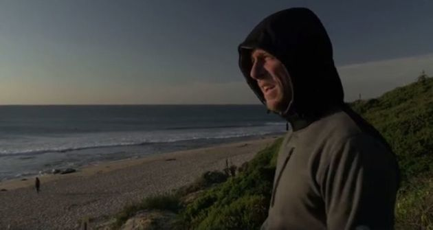 Mick Fanning psyches himself for