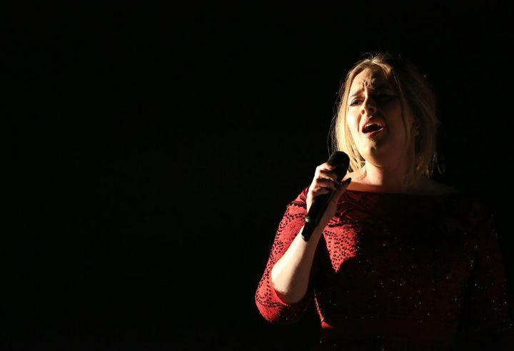 Adele: indisputable Queen of the tearjerker.