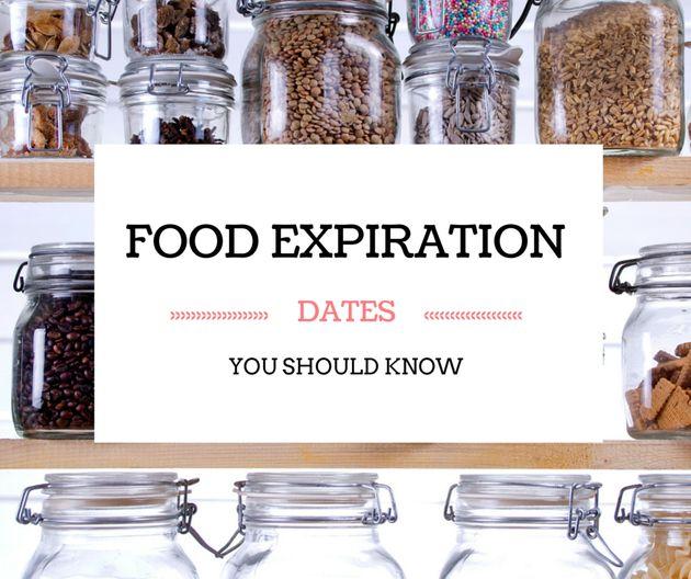 Food Expiration Dates Everyone Should